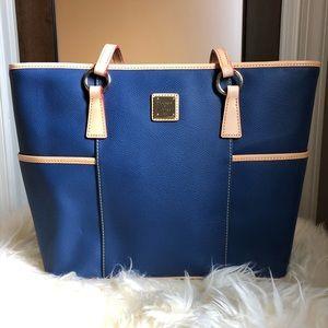 Dooney & Bourke Navy Blue Tote Bag